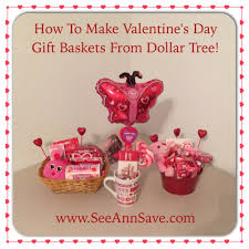valentines gift how to make s day gift baskets from the dollar tree