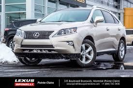 lexus suv a vendre used 2014 lexus rx 350 premium package cam cuir toit super