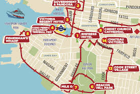 Map Of Vancouver Canada Hop On Hop Off Sightseeingtours Victoria Bc