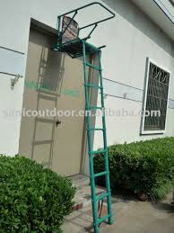 new telescopic aluminum ladder stand folding hunting tree stand