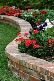 pallet wood cut in short pieces make a great flower bed border