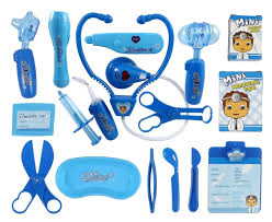 amazon com liberty imports deluxe blue doctor nurse medical kit