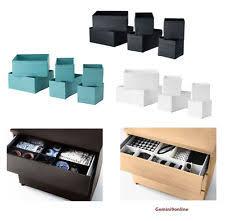 ikea skubb drawer organizer ikea storage ebay