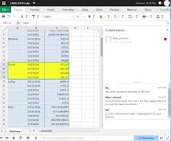 Online Spreadsheet Viewer Google Sheets Vs Excel Online Vs Zoho Sheet Which Cloud