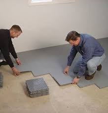Basement Floor Mats 14 Tips For Finishing Basements Dimples Concrete And Basements
