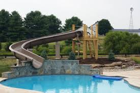 diy backyard slides of pool design and ideas of house