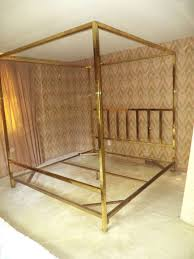 brass canopy bed genwitch