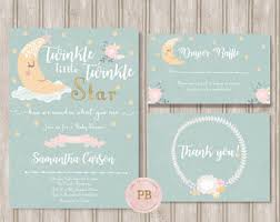 twinkle twinkle baby shower baby shower invitation twinkle twinkle twinkle