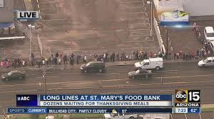 lines forming st s food bank still needs donations