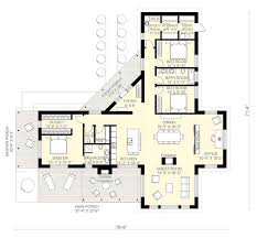 Contemporary Floor Plan by Contemporary Style House Plan 3 Beds 2 5 Baths 2180 Sq Ft Plan