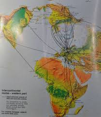 Easyjet Route Map by The Timetablist Sas Map Of The Long Haul Routes 1973