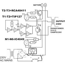 inverter by swagatam homemade inverter circuit diagram intended