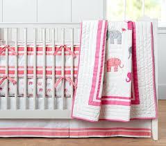 Crib Bedding For A Girl Girl Crib Bedding Sets Pink And Gray