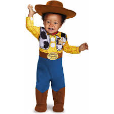 Halloween Costumes Football Player Boy Toy Story Infant Woody Deluxe Costume Walmart