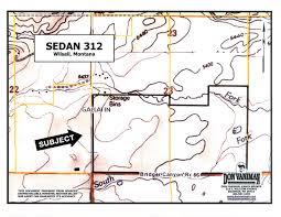 Bozeman Montana Map by Sedan 312