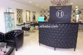 Small Reception Desk For Salon Spevy Morden Tufted Reception Desk Buy White Reception Desk