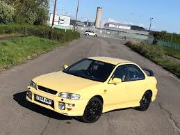 subaru yellow subaru impreza sport special limited edition in port talbot