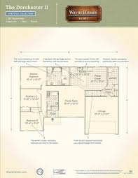 Mudroom Laundry Room Floor Plans by Dorchester Ii Wayne Homes