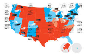 Romney Obama Map State Secession The 61 States Of America New Republic