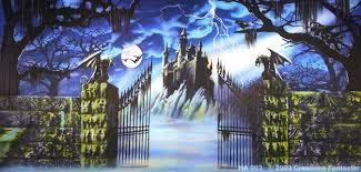 Castle Backdrop Ha003 Haunted Castle