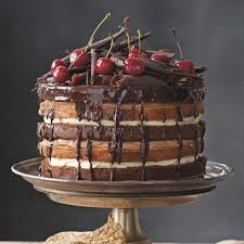 black forest cake cake recipes baking ideas red online