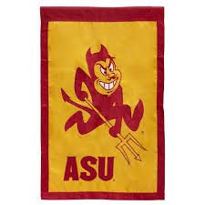 University Flags Fan Essentials Ncaa 18 In X 12 5 In Arizona State University