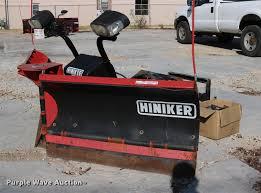 hiniker da series v plow item dw9823 sold october 11 ve