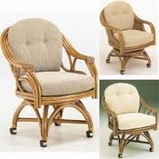 Dining Room Chairs Casters Swivel Glider Chairs Rattan Swivel Rockers