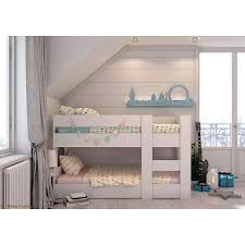 Kids Beds Melbourne Bunk Bed Compact Mid  Low Height - Height of bunk beds