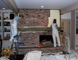 Cleaning Bricks On Fireplace by Painting Fireplace Brick