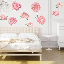 Watercolor Wallpaper For Walls by Pretty Pink Peonies Watercolor Wall Decal Kit By Chromantics