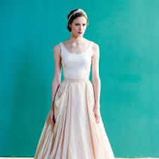 casual wedding dress a modern casual wedding dress by carol whitfield brides