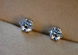 diamond earrings with price half carat diamond earrings andino jewellery half carat diamond