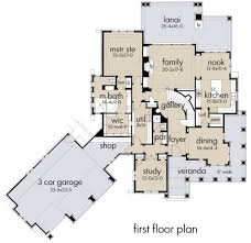 Craftsman Style House Floor Plans Craftsman Style House Plan 4 Beds 4 00 Baths 3069 Sq Ft Plan