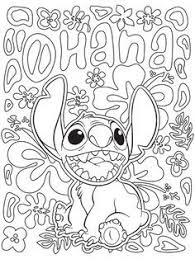100 stitch coloring images drawings