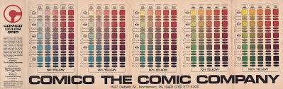 Modern Color Palette Mad For Mid Century Mid Century Color Palette In Comics