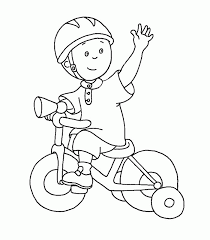 free printable caillou coloring pages kids