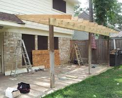 Patio Cover Plans Free Standing by Patio Cover Ideas Home Design