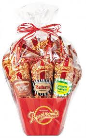 popcorn gift baskets classic 7 cone popcorn gift basket popcornopolis