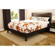 south shore soho queen platform bed u0026 headboard set multiple