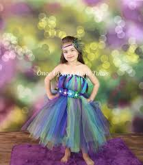 Halloween Costumes Girls Size 10 12 Peacock Tutu Dress Child Girls Size 12 Months 2t 3t 4t 5 6