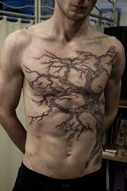 cool tree design on chest for design ideas
