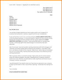 brilliant ideas of sample cover letter for any job opening with