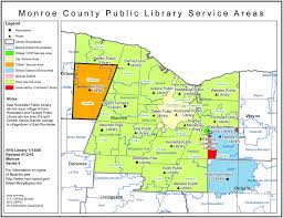 New York State Counties Map by Monroe County Find Your Public Library In New York State Library