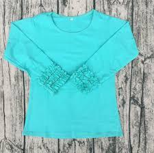 Comfort Colors T Shirts Wholesale Aliexpress Com Buy 2017 Baby Triple Ruffle Knitted Shirts Bulk