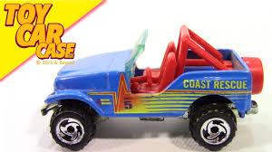 jeep toy car wheels jeep coast rescue no 5 1990 toy car case youtube