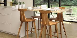 Modern Wood Bar Stool Wooden Counter Stools Sbl Home