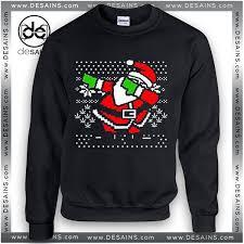santa sweater sweatshirt dabbing santa sweater size s 3xl
