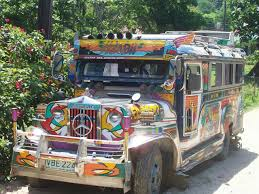 philippine jeepney philippine transportation the jeepney travel pinterest