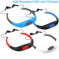headband mp3 8gb sport underwater mp3 player radio fm headband mp3 players